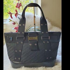 Christian Dior Large Trotter Black Handbag
